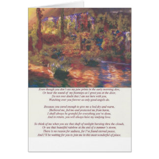 Amys poem II Card
