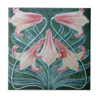 AN012 Art Nouveau Reproduction Antique Tile