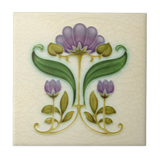 AN015 Art Nouveau Reproduction Antique Tile