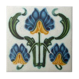 AN038 Art Nouveau Reproduction Antique Tile