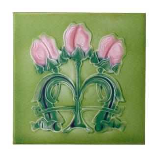AN063 Art Nouveau Reproduction Antique Tile