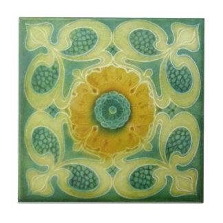 AN095 Art Nouveau Reproduction Antique Tile