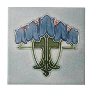 AN097 Art Nouveau Reproduction Antique Tile