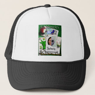 An0ma1y Book cover Trucker Hat