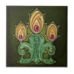 AN115 Art Nouveau Reproduction Antique Tile
