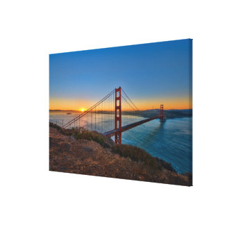 An absolutely stunning sunrise canvas print