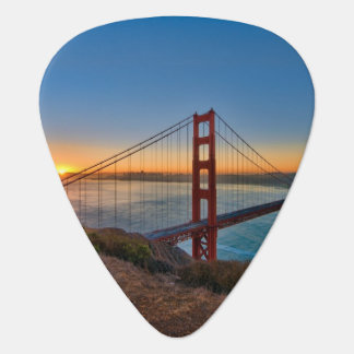 An absolutely stunning sunrise guitar pick