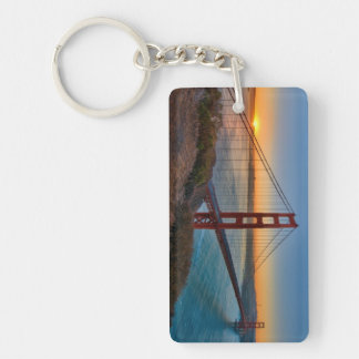 An absolutely stunning sunrise key ring