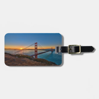 An absolutely stunning sunrise luggage tag