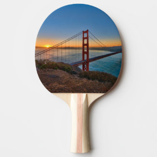An absolutely stunning sunrise ping pong paddle