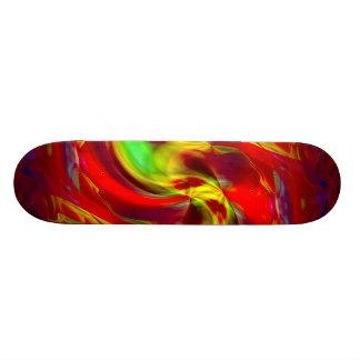 An Abstract Christmas Skate Decks