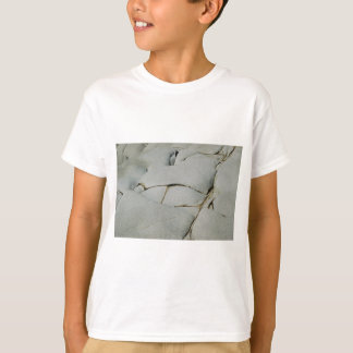 An abstract pattern of white and grey. T-Shirt