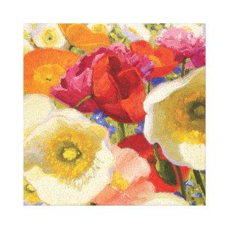 An Abundance of Flowers Canvas Print