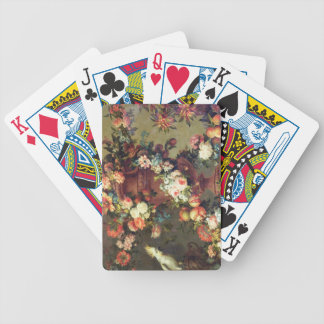 An Abundance of Fruit and Flowers Bicycle Playing Cards