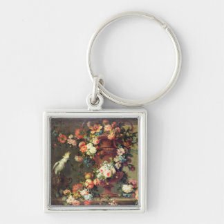 An Abundance of Fruit and Flowers Key Ring