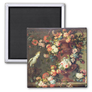 An Abundance of Fruit and Flowers Magnet
