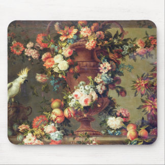 An Abundance of Fruit and Flowers Mouse Mat