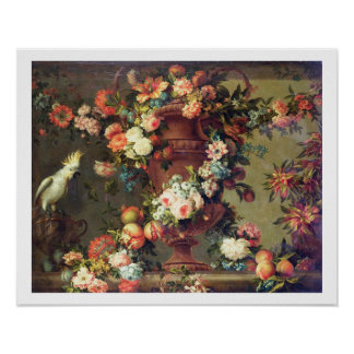 An Abundance of Fruit and Flowers Poster