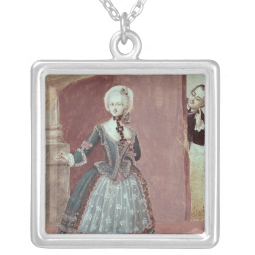 An Actress in the Role of Rosine Necklaces