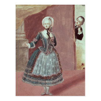 An Actress in the Role of Rosine Postcard