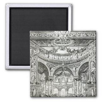 An Admission Ticket for Handel's oratorio Refrigerator Magnet