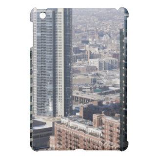 An aerial view of Chicago, looking northwest 2 Cover For The iPad Mini
