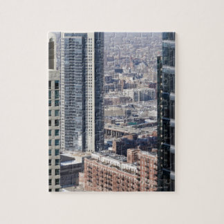An aerial view of Chicago, looking northwest 2 Jigsaw Puzzle