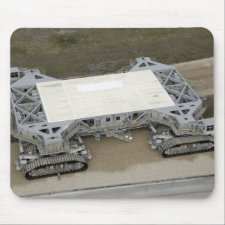 An aerial view of the crawler-transporter mouse mat