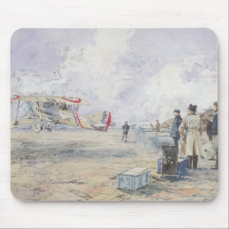 An Aeroplane Taking Off, 1913 Mouse Mat