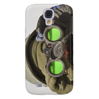 An Afghan soldier scans the horizon Galaxy S4 Case