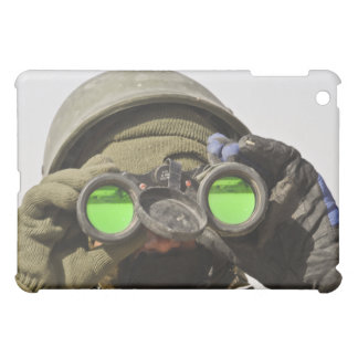 An Afghan soldier scans the horizon Cover For The iPad Mini