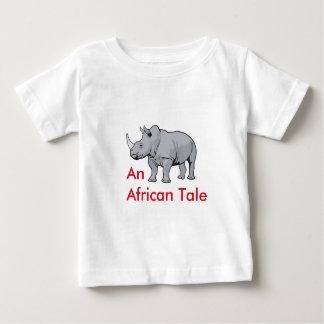 An African Tale Rhino S.O.S Baby T-Shirt