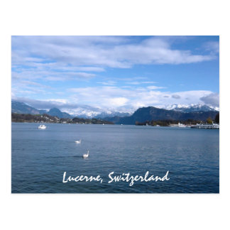 An Afternoon by Lake Lucerne Postcard