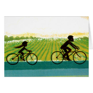 An Afternoon Ride Greeting Card