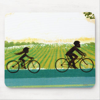 An Afternoon Ride Mouse Mat