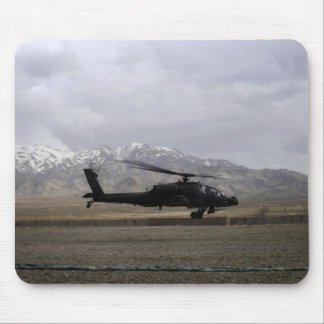 An AH-64A Apache taking off Mouse Pad