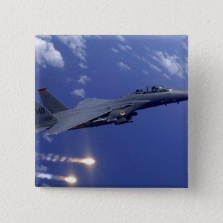 An Air Force F-15E Strike Eagle 15 Cm Square Badge