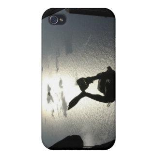 An Air Force pararescueman iPhone 4 Cover