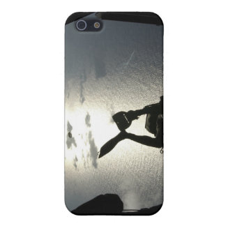 An Air Force pararescueman iPhone 5/5S Covers