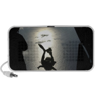 An Air Force pararescueman iPod Speaker