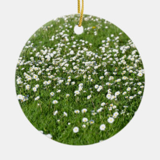 An air of spring christmas ornament