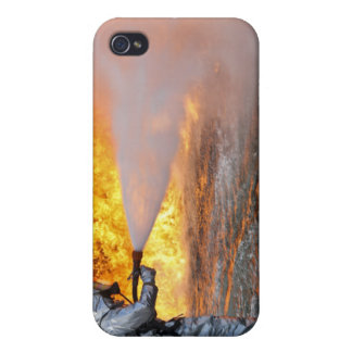 An aircraft rescue firefighting team iPhone 4/4S cases