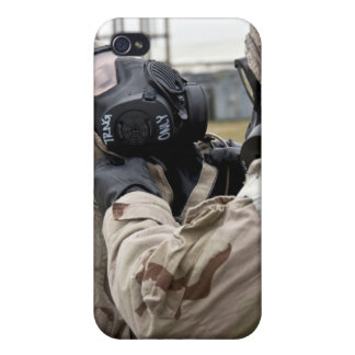 An Airman assists his wingman iPhone 4/4S Cover