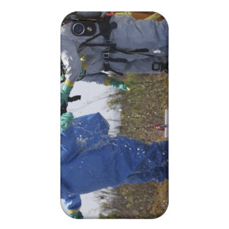 An airman stands in a tub iPhone 4 covers
