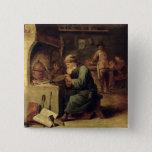 An Alchemist 15 Cm Square Badge