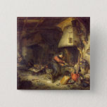 An Alchemist, 1611 15 Cm Square Badge