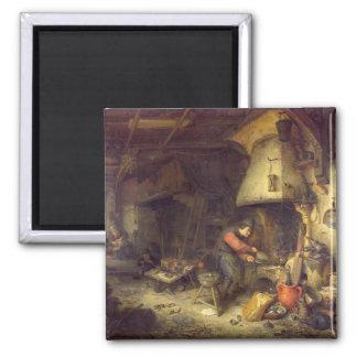 An Alchemist, 1611 Magnet