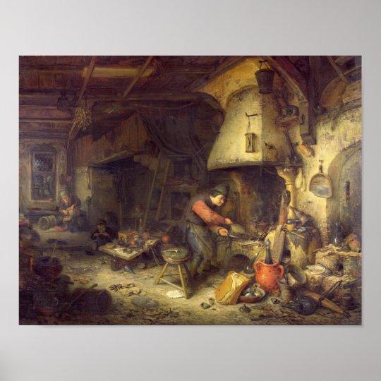 An Alchemist, 1611 Poster