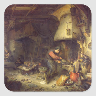 An Alchemist 1611 Sticker