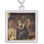 An Alchemist Silver Plated Necklace